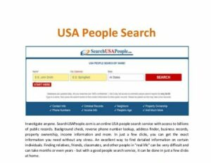 Fast People Search Alternatives
