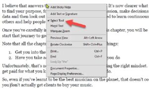 how to type on a pdf