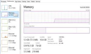 windows 10 100 disk usage