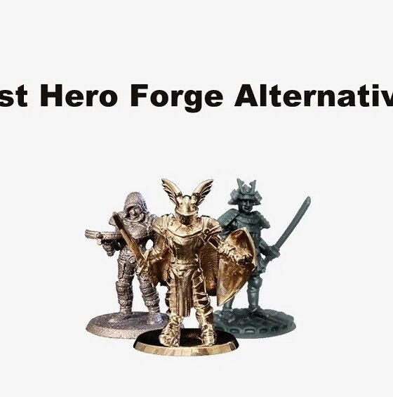 Hero Forge Alternatives