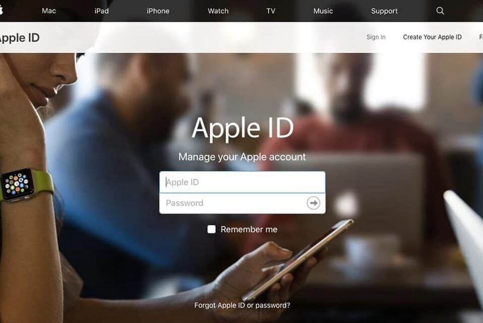 Change iCloud Account ID on iPhone