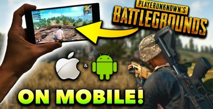 games like pubg android ios